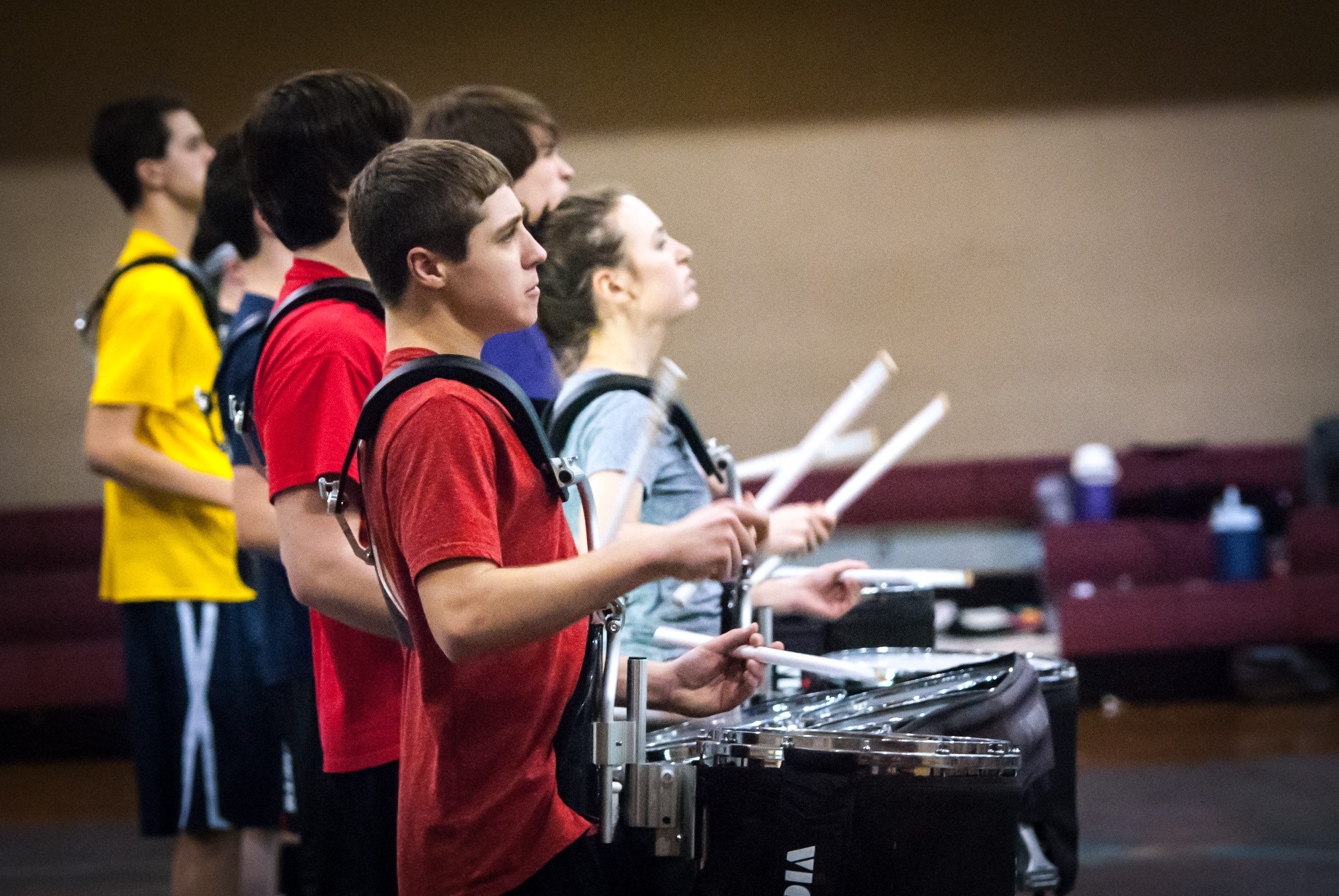 Winter Percussion at Franklin Central 2/21/15
