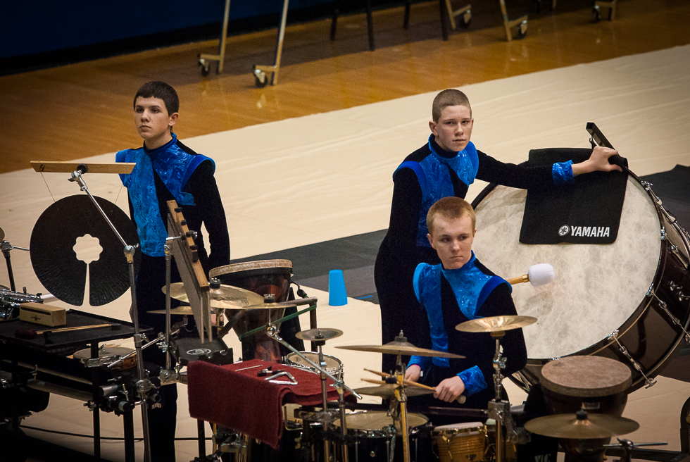 Winter Percussion at Decatur Central and Avon, 3/14/15