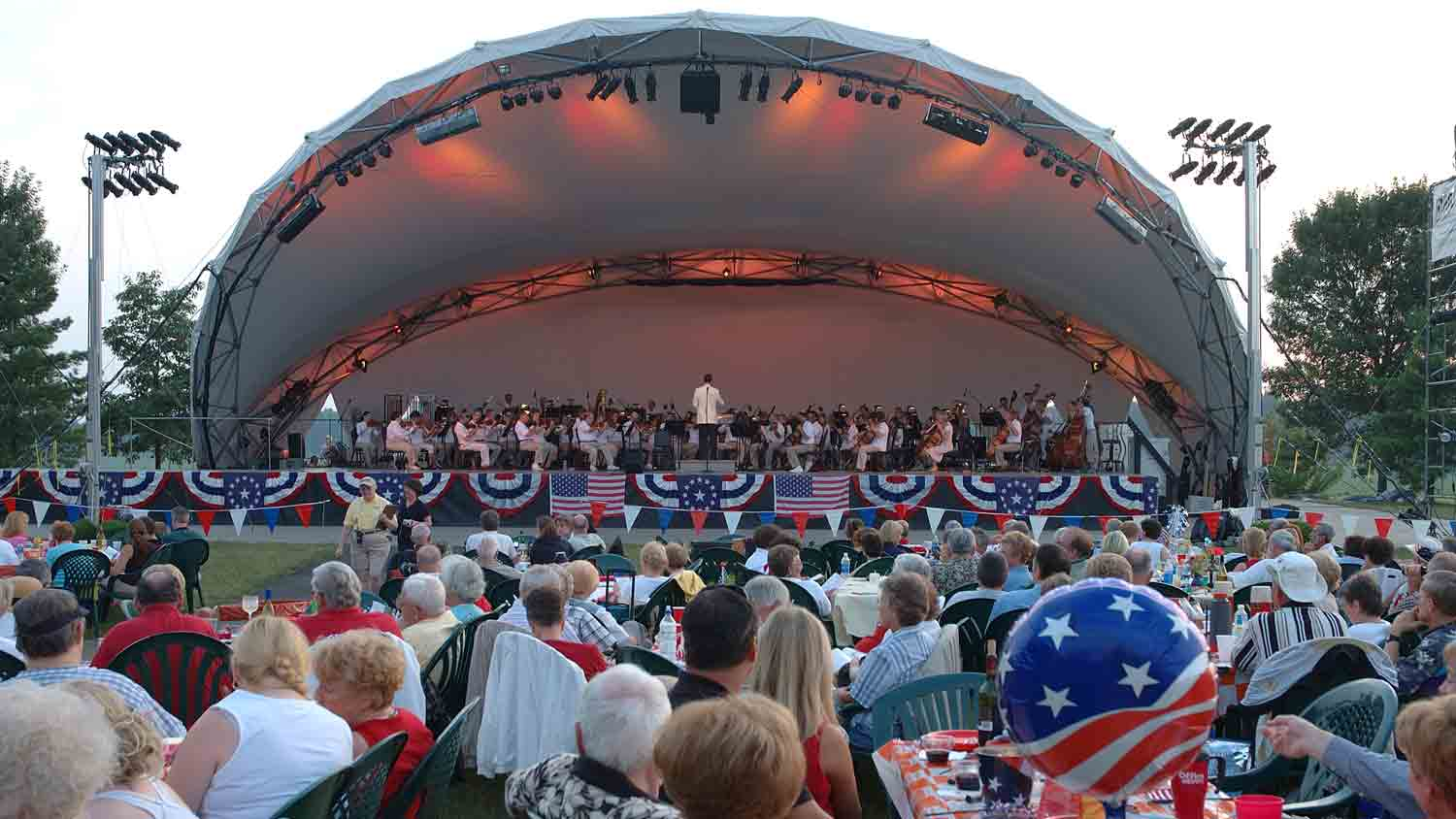 2015 Symphony On The Prairie Fundraising Spots