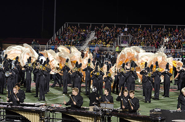 2015 ISSMA Regionals – Center Grove 10/17