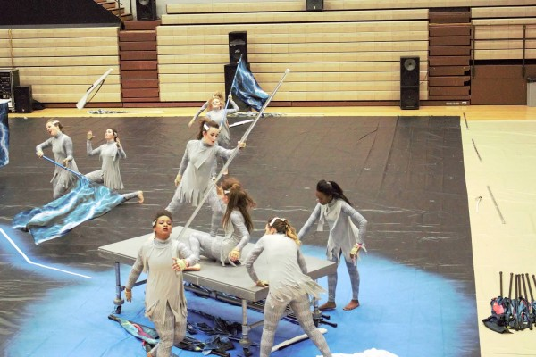 2016 Colorguard Workouts and Auditions