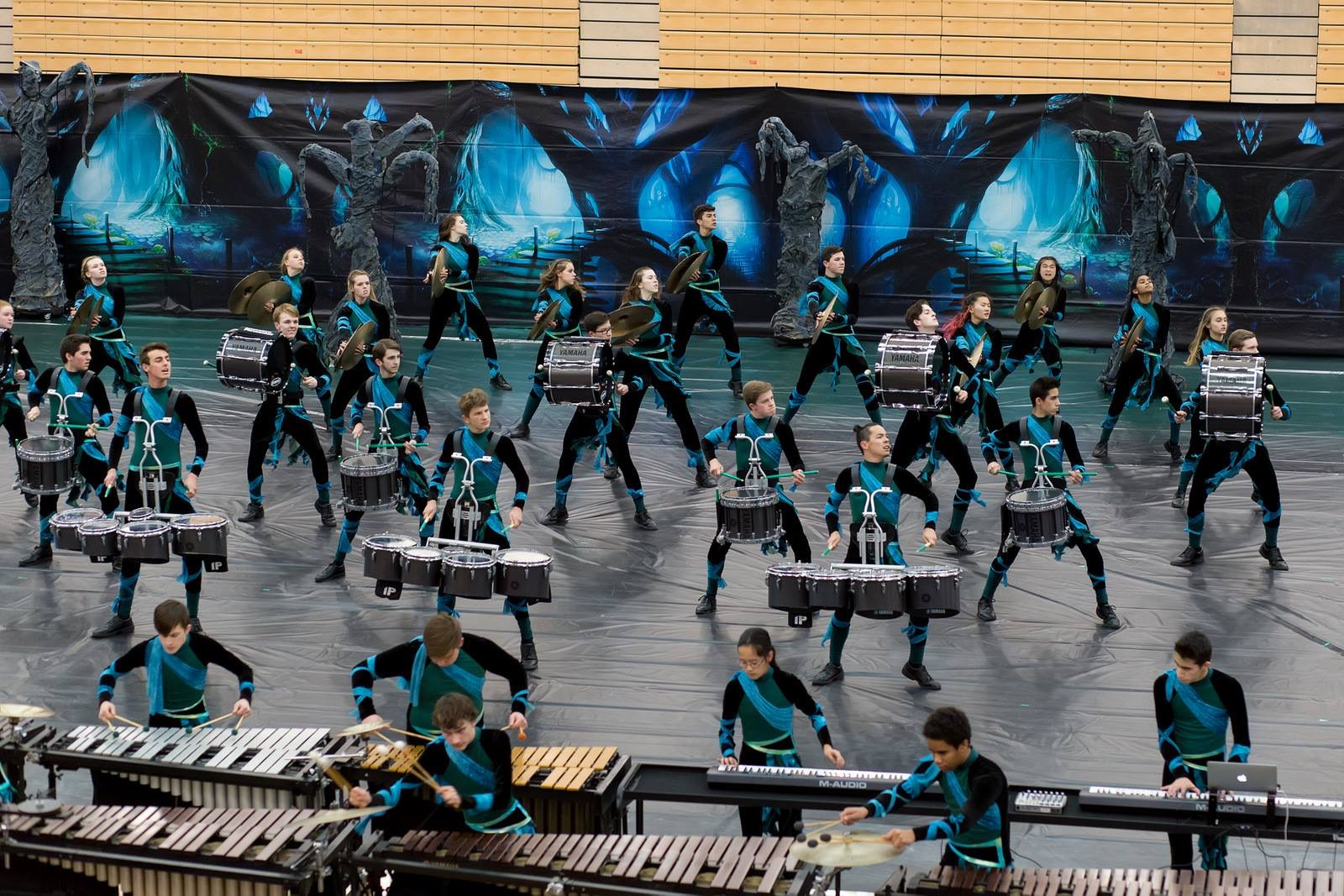 2017 Winter Percussion at Greenfield – 3/4/17