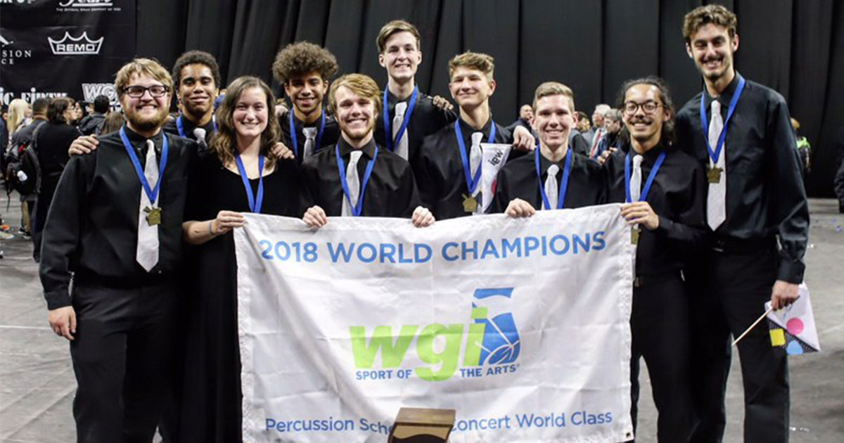 2018 WGI Percussion Recap